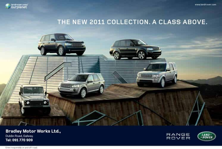 Land Rover Press Ad
